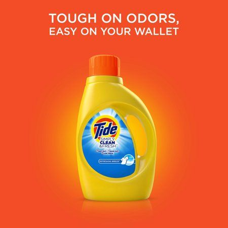 Household Essentials | Tide simply clean, Liquid laundry ...