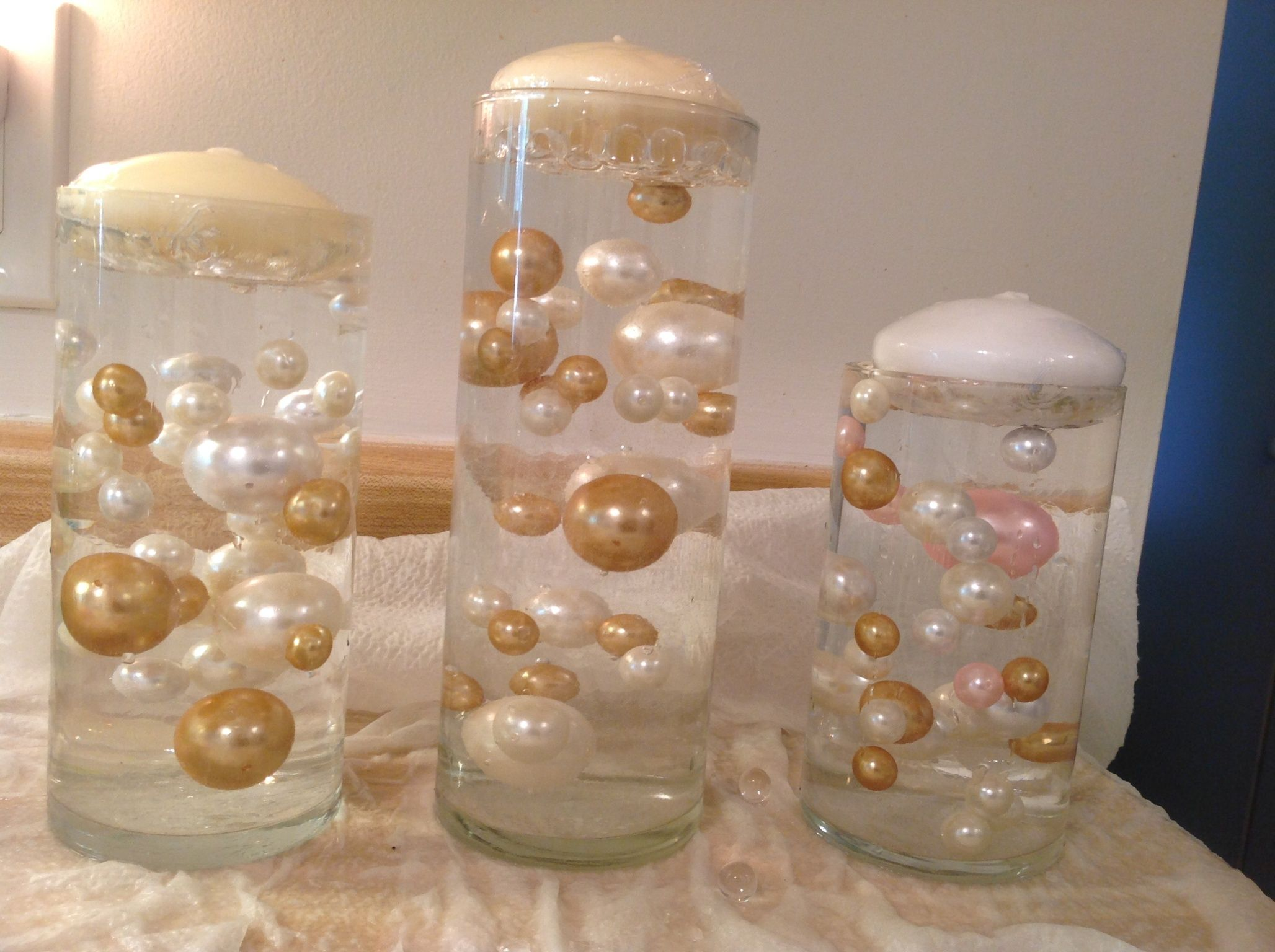 Three cylinder vases with clear water beads and white ivory and a three cylinder vases with clear water beads and white ivory and a touch of pink reviewsmspy