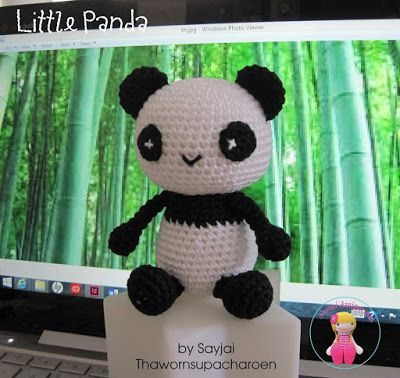 Make It: Little Panda - Free Crochet Pattern #crochet #amigurumi #free #ravelry