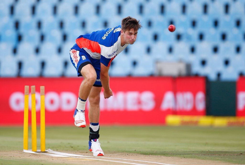 Great balance from Chris Woakes