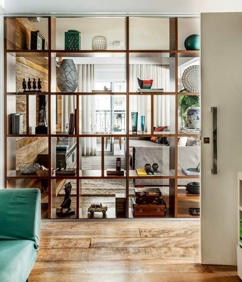 Separar ambientes sin obras casa living pinterest muebles decoraci n hogar y hogar - Puertas correderas para separar ambientes ...