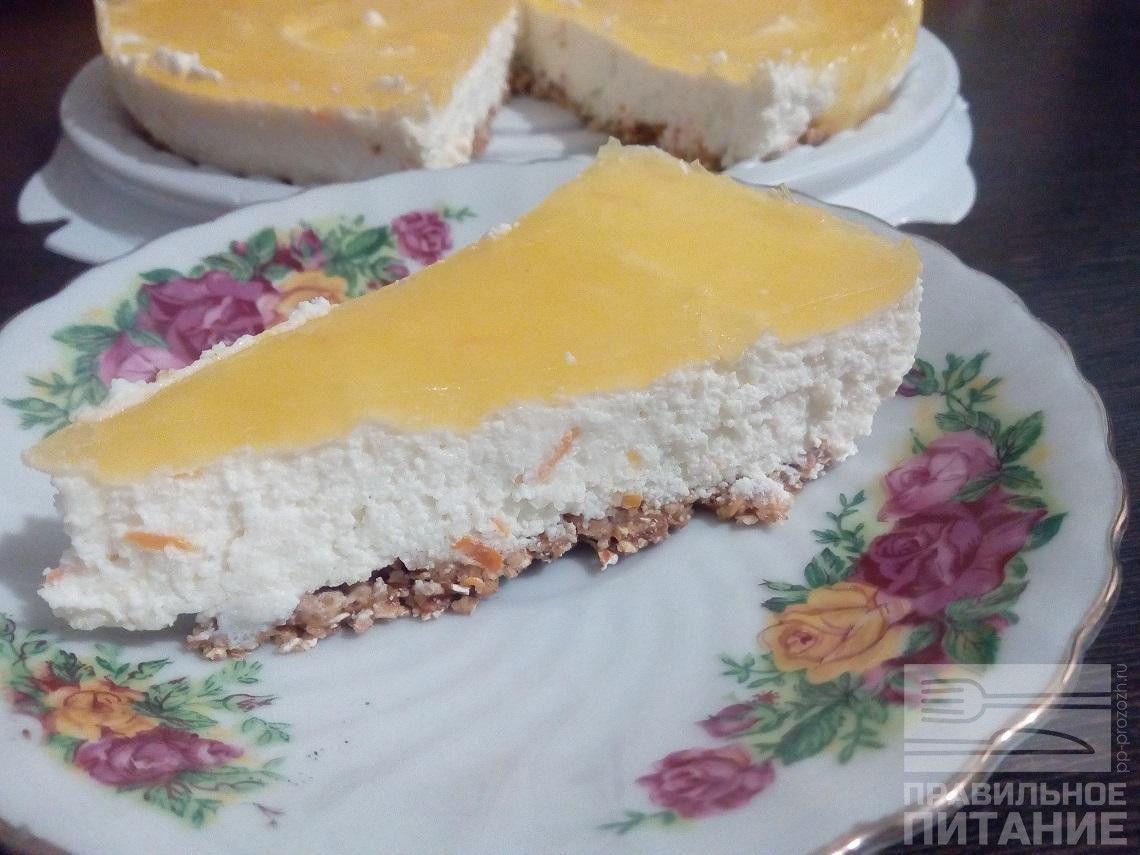Диетические десерты из творога без выпечки
