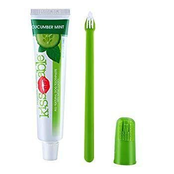 KissAble Dog Dental Kit Contains AllNatural Toothpaste