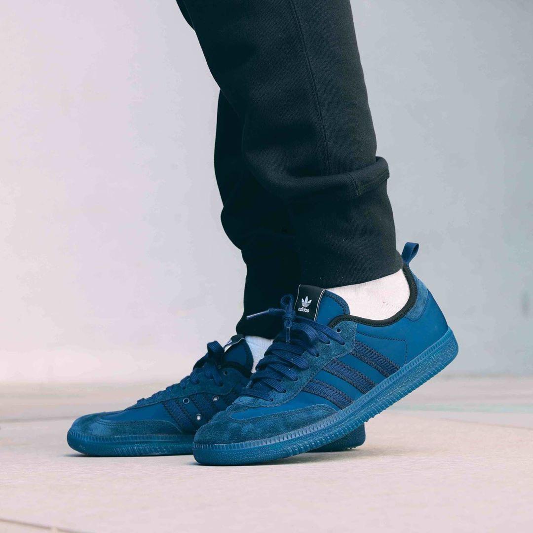 new product 0970b 12cb1 Release Date  August 24, 2018 Adidas x C.P Company Samba Dark Blue https