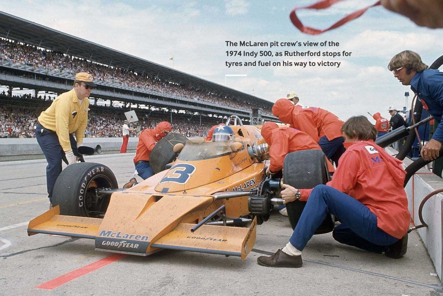 Johnny Rutherford Indy Kiwi Flyers Tangerine Dreams