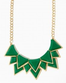 Breakout Bib Statement Necklace