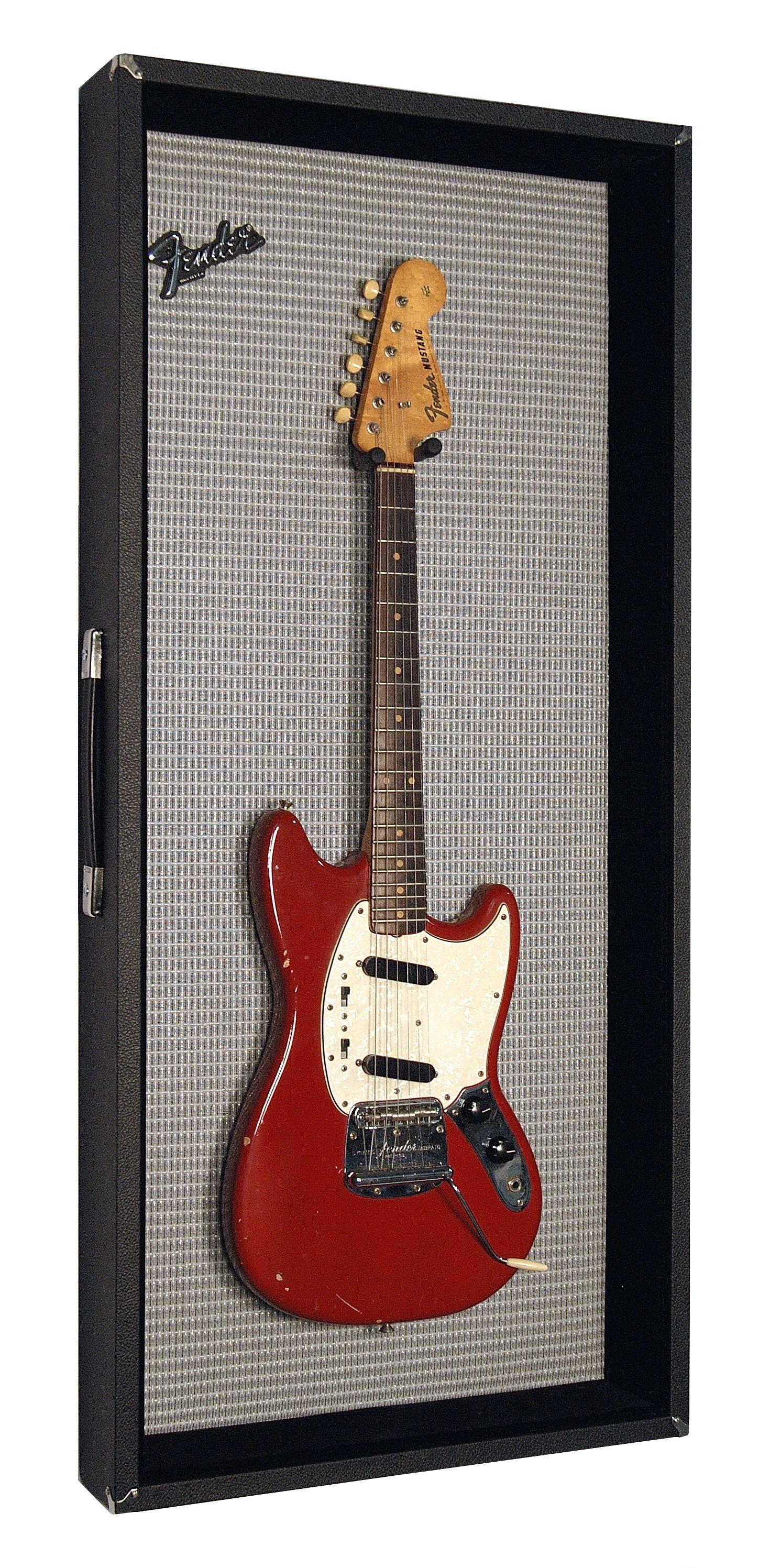 guitar frame vintage guitars guitar display guitar display case music bedroom. Black Bedroom Furniture Sets. Home Design Ideas