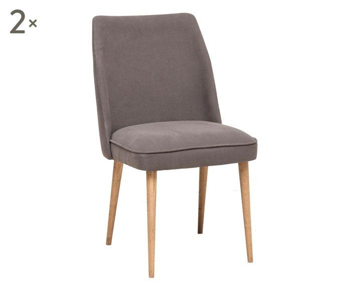 Set sedie ~ Set di sedie alice grigio home diningroom chairs