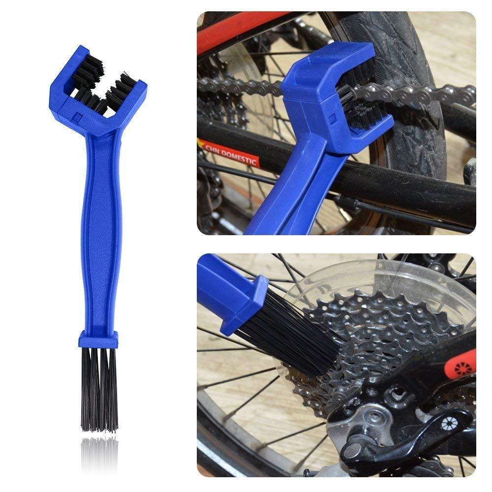 Bikight Bicycle Road Bike Motorcycle Pvc Chain Cleaning Brush Gear