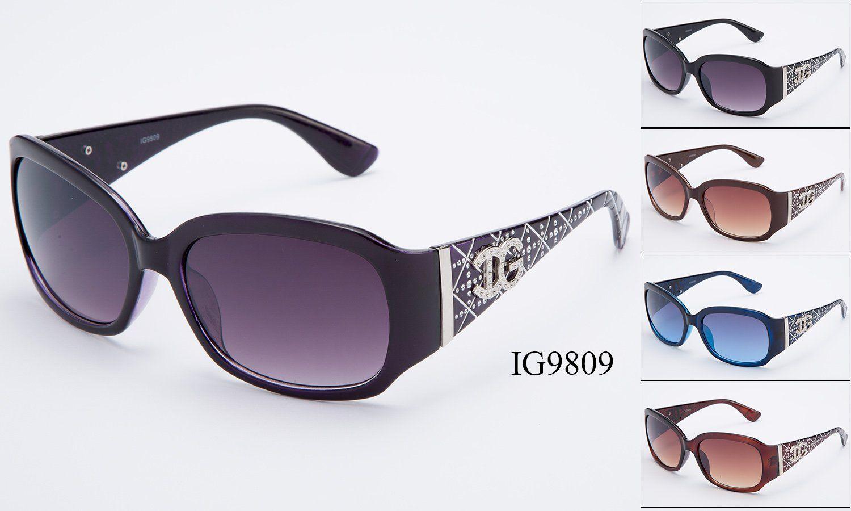 e449736537177 Womens Wholesale Textured Rhinestone Armband Fashionable Sunglasses 1 Dozen