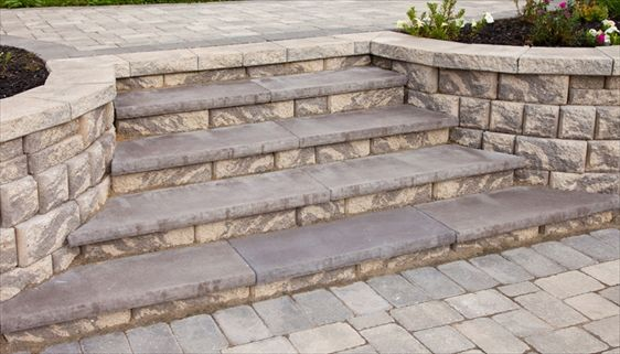 Patio Step Caps And Treads