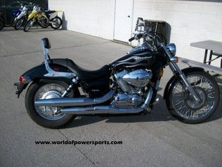 2007 HONDA SHADOW SPIRIT 750, BACKREST,LIQUID COOLED,LOW SEAT HEIGHT #USED
