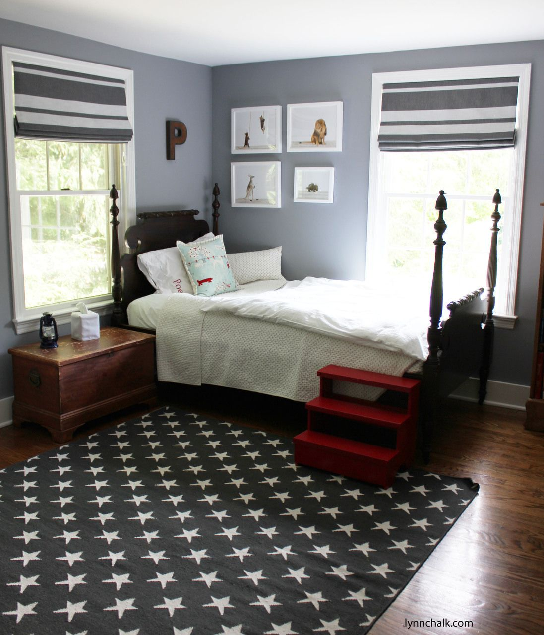 9  Kids Room Roman Shades - Interior Design Bedroom Ideas On A ...