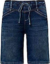 Tom Tailor Damen Tapered Bermuda Shorts, braun, unifarben