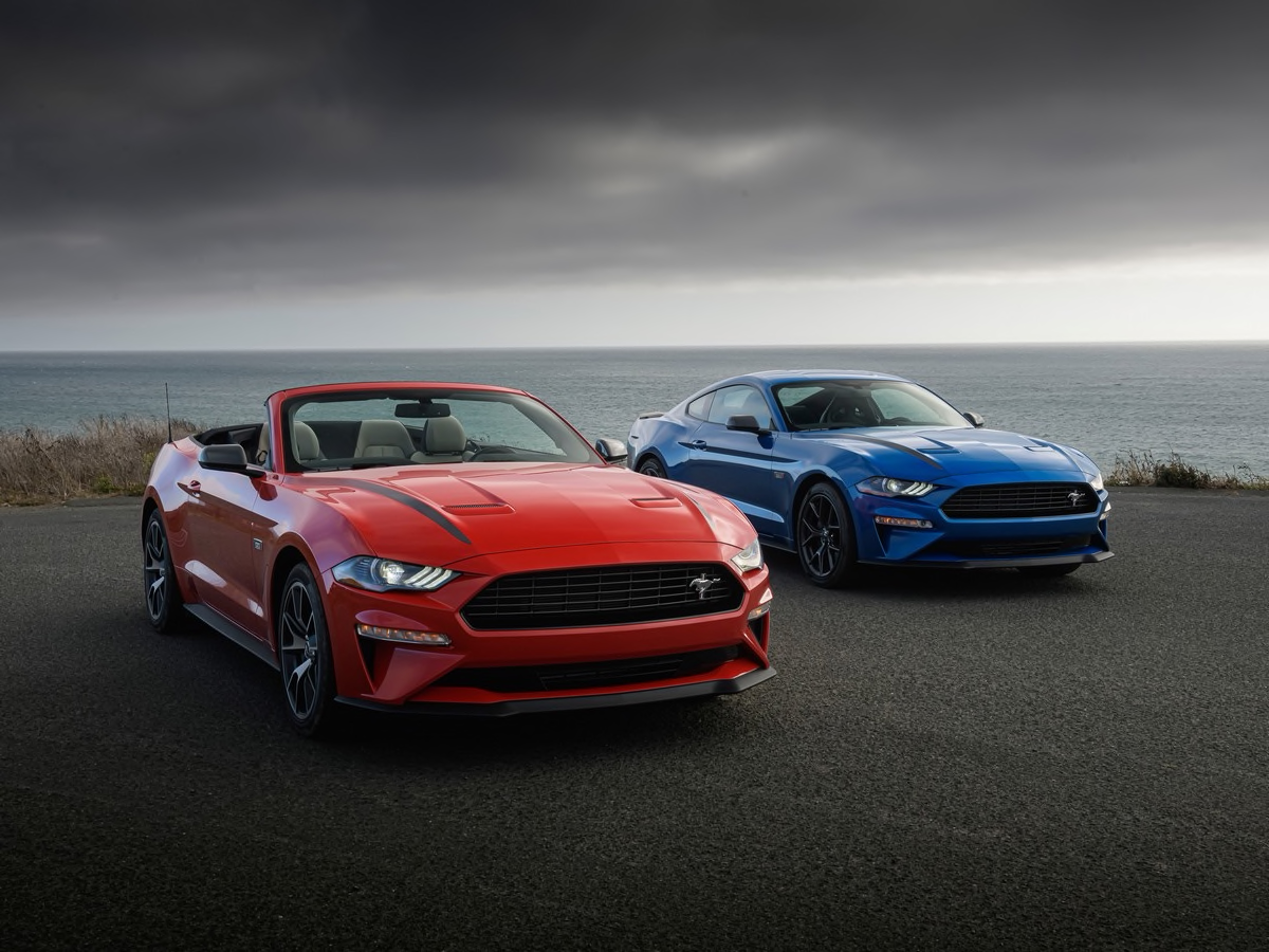 2020 Ford Mustang Ecoboost High Performance First Review Ford Mustang Ford Mustang Ecoboost New Ford Mustang