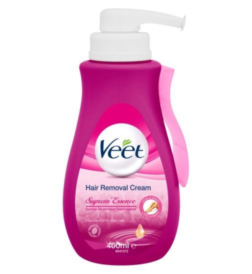 Veet Supremessence Hair Removal Cream With Velvet Rose And