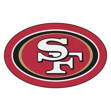 San Francisco 49ers Mascot Area Rug Floor Mat