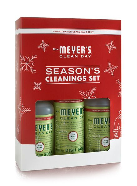 Iowa Pine Holiday Set From Mrs Meyer S Clean Day Includes