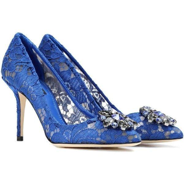 Dolce & Gabbana Pompes 'belluci' - Bleu xHT0xvog4F