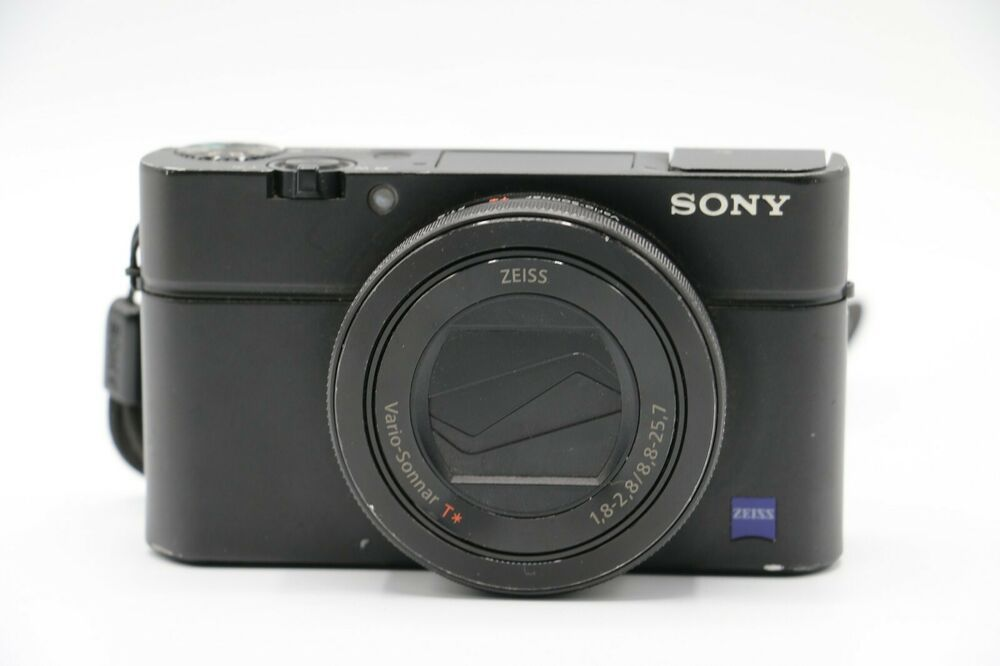 Sony Cyber Shot Dsc Rx100 Iv 4k Wi Fi Digital Camera 79 Bids