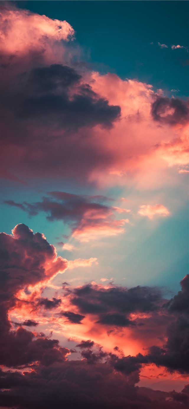 My favourite cloudscape of the year iPhone X wallpaper # ...