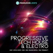 Progressive Tech House & Electro V1 from Producer Loops distributed by Loopmasters - http://www.audiobyray.com/product/samplepack-progressive-tech-house-electro-v1/ - Producer Loops, Sample Packs