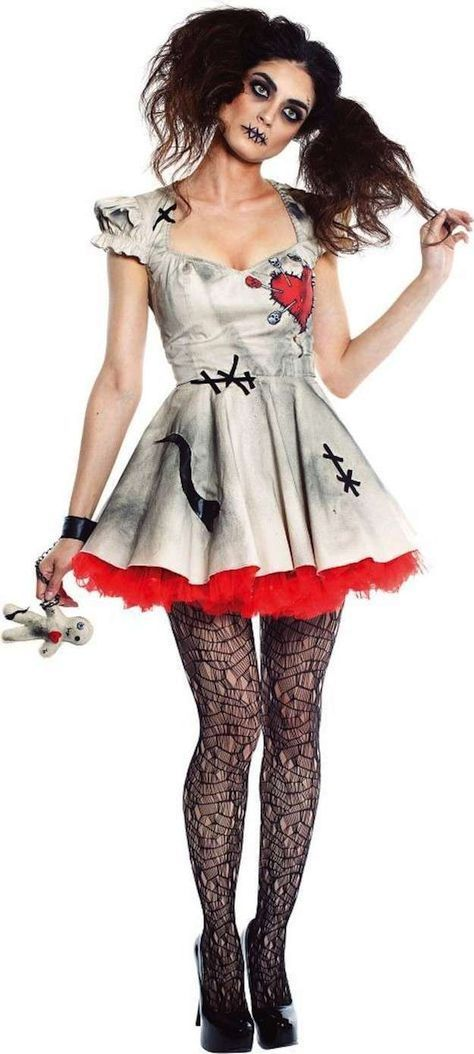 Halloween Los Disfraces Más Fashion Fotos De Los Looks Muñeca Diabólica Disfraz Halloween Disfraces Disfraces Halloween Mujer Disfraces