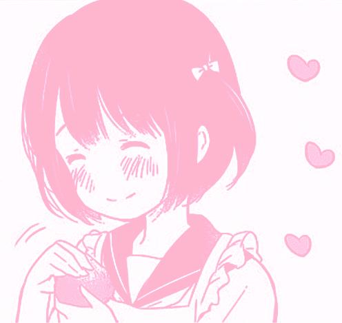 aikiiroenko Pink art, Aesthetic anime, Pink aesthetic