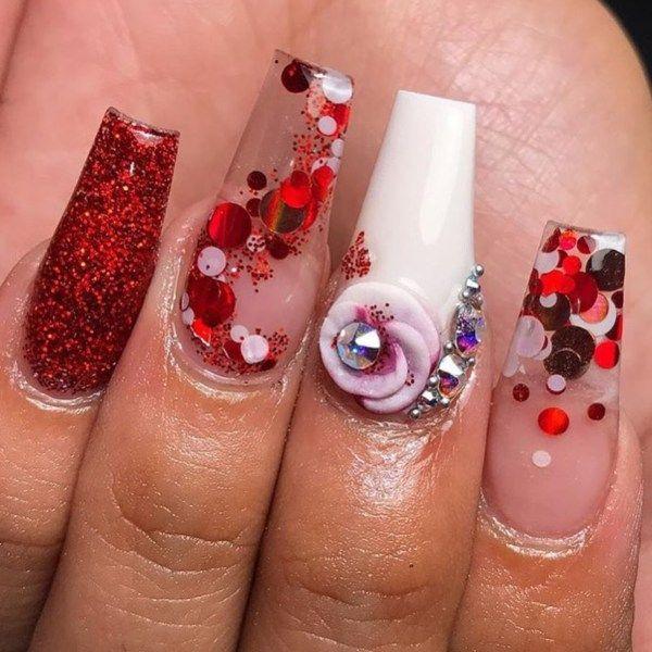 54 Valentines Day Nail Design And Nail Art Ideas Nail Ideas