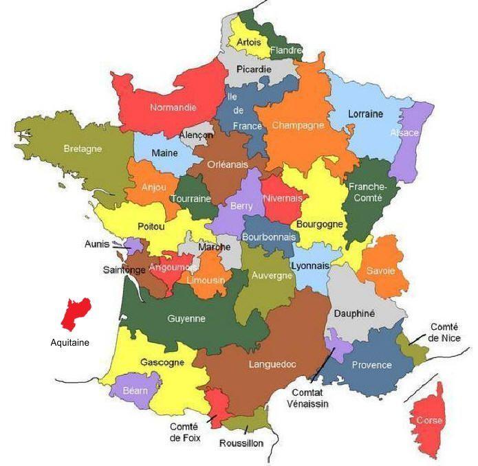 Resultat De Recherche D Images Pour Anciennes Regions De France Drapeau Francais Carte Des Regions Carte De France