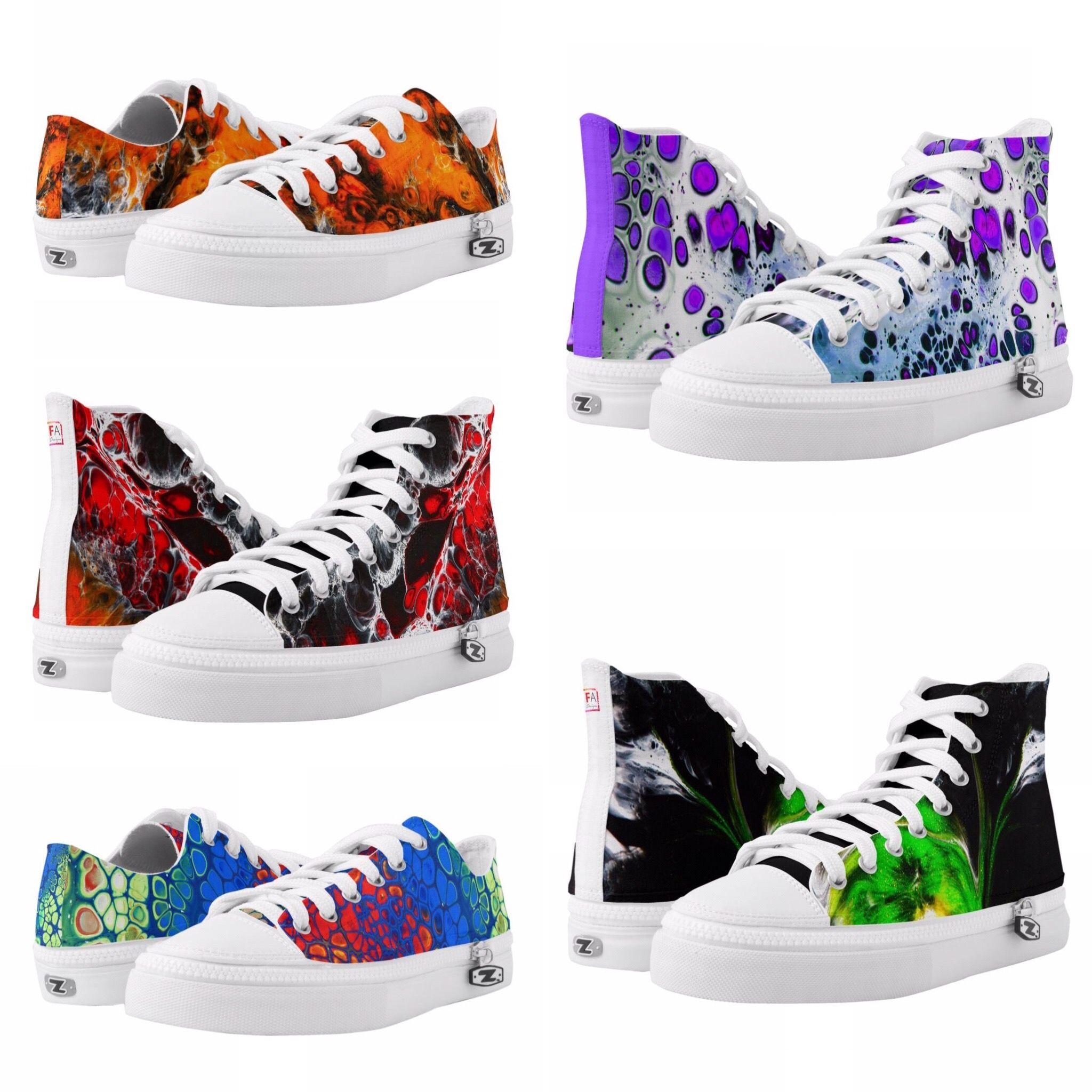 09f950b207b Unieke design high top sneakers van Famous Art Designs, men's sneakers,  women's sneakers, street footwear