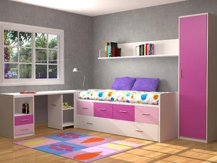 Dormitorio juvenil | Cuarto de niñas | Dormitorios ...