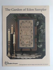 Garden Of Eden Cross Stitch Pattern Chart by The Needle's ...