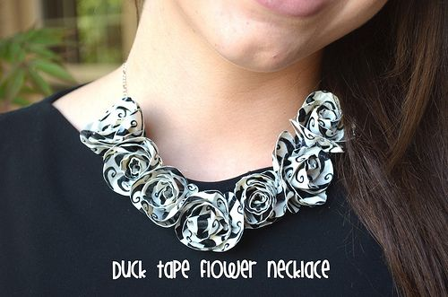 pin pinterest duct art tape ideas necklace teen crafts