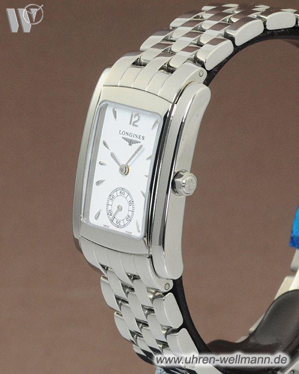 Longines Dolce Vita L55024166, Damenuhr, Quarz, Stahlgehäuse, Stahlarmband mit Faltschließe