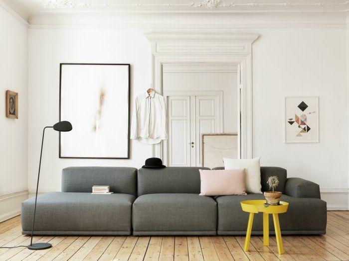 ▷ 1001+ Sofa grau - Beispiele, warum Sie ein Sofa genau - Wohnzimmer Einrichten Grau
