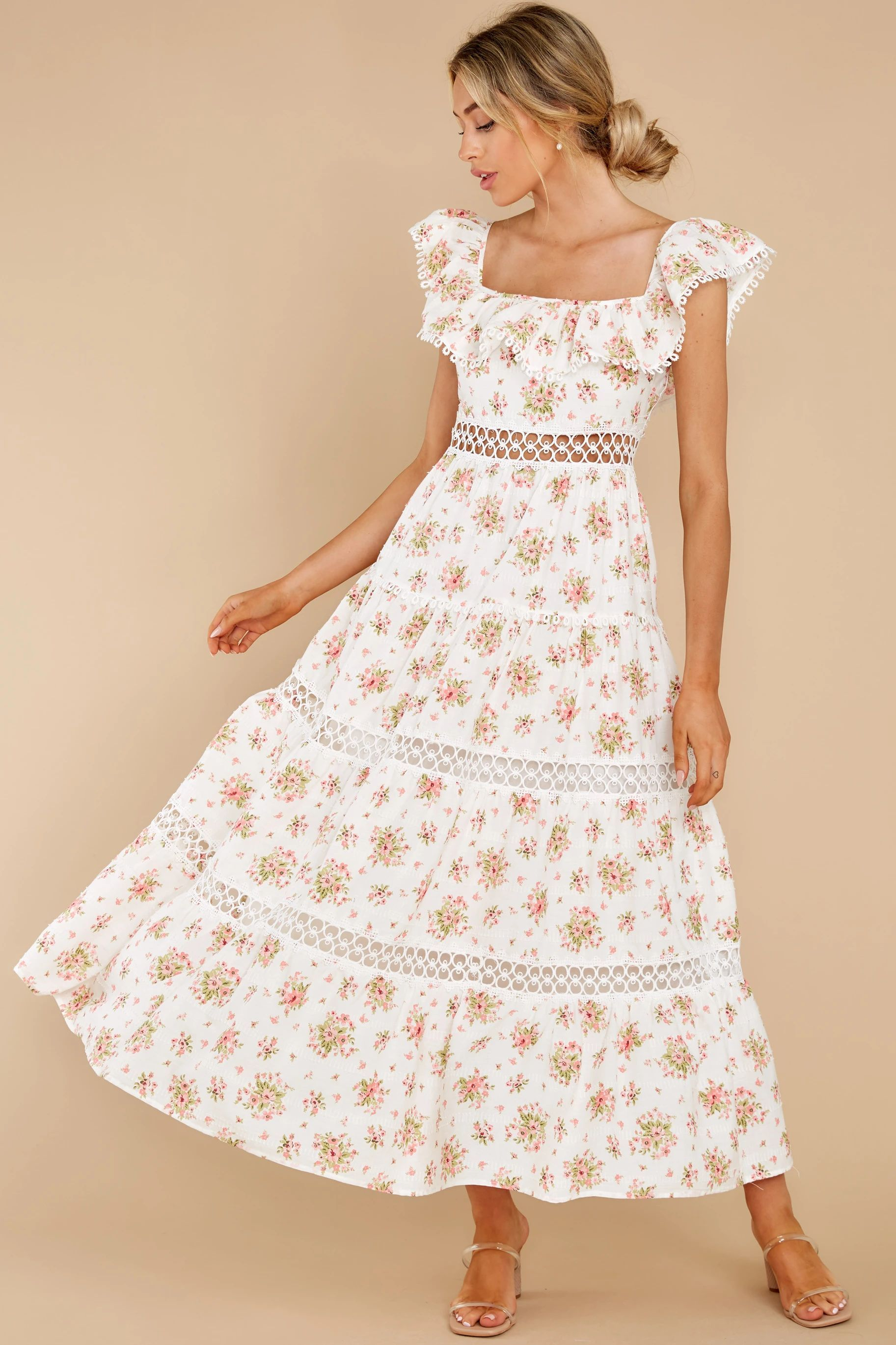 70s Dresses Summer Afternoons Maxi Hippie Dresses Disco Dress Printed Maxi Dress [ 2738 x 1825 Pixel ]