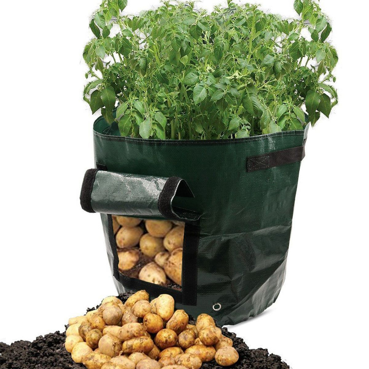 Tomatoes Potato Grow Bag Fruits Vegetables Planter Pots Breathable