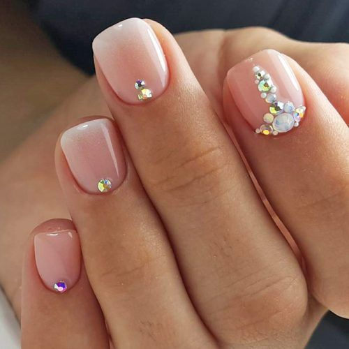 101 Simple Nail Art Ideas For Short Nails 2018 Nogti Dizajnerskie Nogti Nogti Nevesty