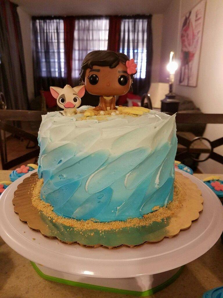 Moana Cake Adult Birthday Cakes Birthday Cake Decorating