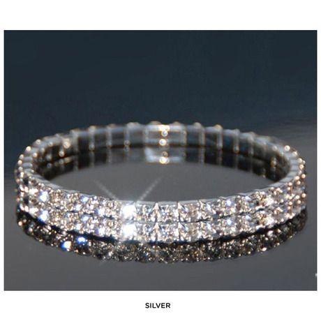 Set of 2 Swarovski Elements Austrian Crystal Bracelet   Swarovski ... 17a2185c90e4