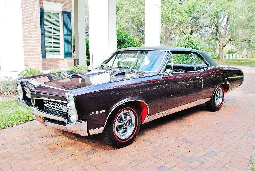 1967 Pontiac Gto Tri Power Pontiac Gto Gto Pontiac Cars