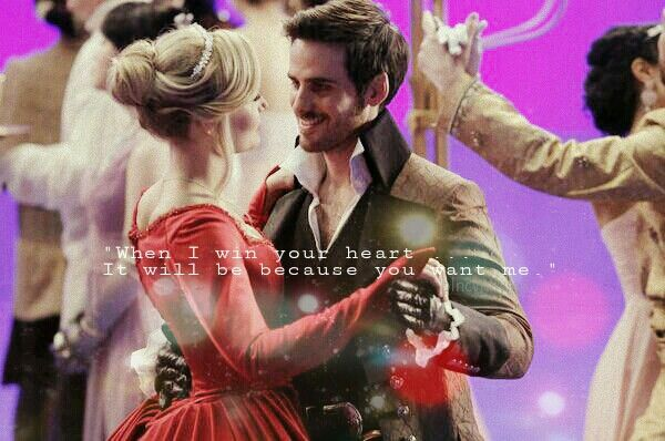 """""""When I win your heart.. It will be because you want me."""" #captainswan edit <3"""