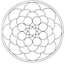 Como Dibujar Mandalas Con Compas Mandala Coloring Pages Mandala Coloring Mandala