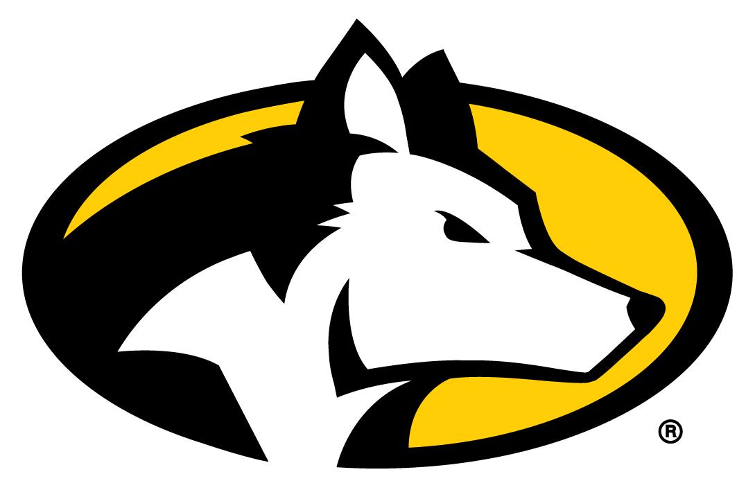 Michigan Tech Huskies Partial Logo Michigan Tech Michigan Husky