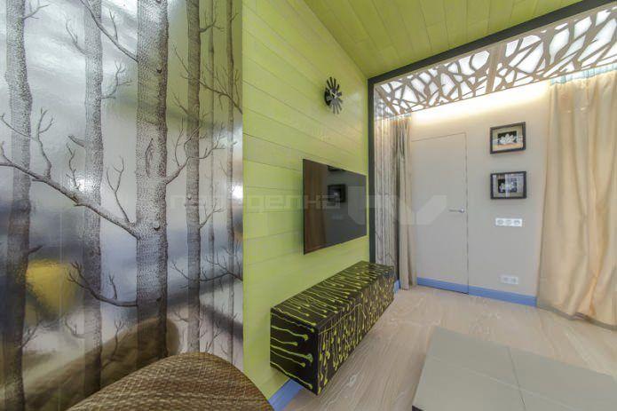 дизайн гостиной 14 кв. м.