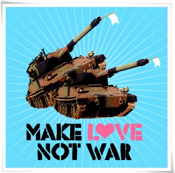 Don't hate, make love!