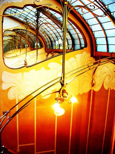 The light of the staircase in the Museum Horta is mesmerizing and enough reason alone to visit!