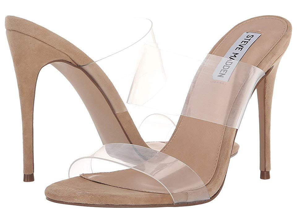 3c8c9489285 Steve Madden Charlee Heeled Sandal High Heels Clear | Products ...