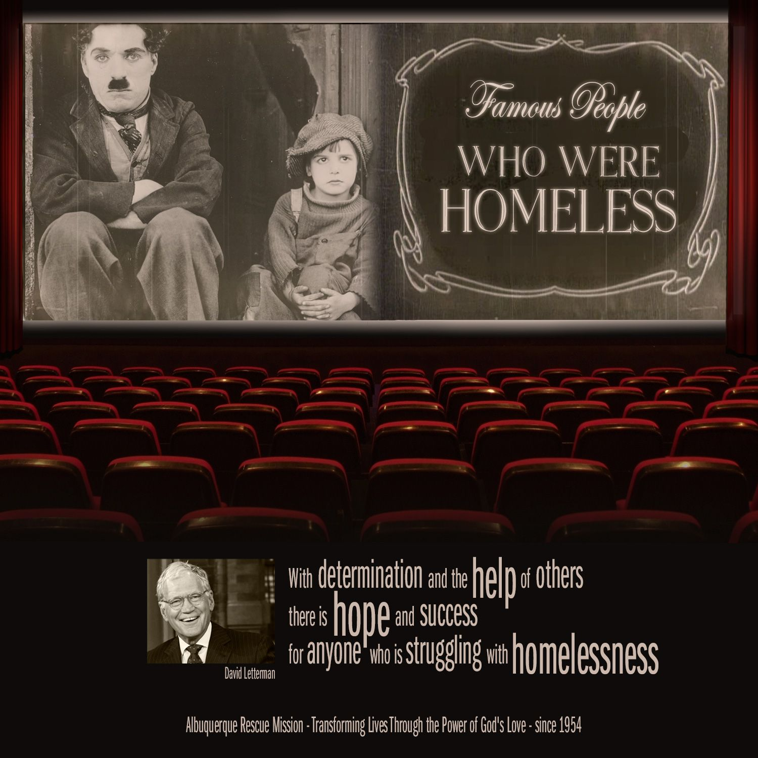 Famous People who Were Homeless When David Letterman